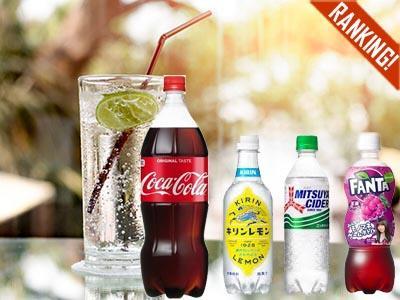 消費者調査データ 炭酸飲料<br>盤石「コカ・コーラ」、高リピート意向のPB