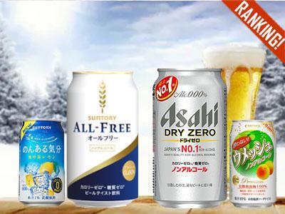 消費者調査データ<br>ノンアルコール飲料(2019年1月版)<br>オールフリーとドライゼロがリード、トクホや透明タイプにも注目