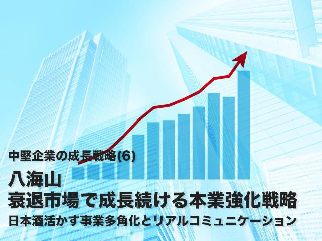 戦略ケース<br>八海山<br>衰退市場で成長続ける本業強化戦略