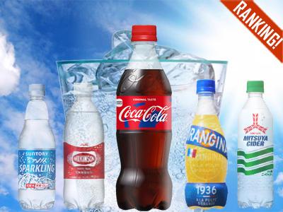 消費者調査データ 炭酸飲料(2018年6月版)<br>無糖炭酸水がリピート意向上位に